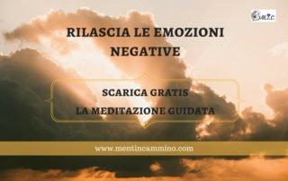 Come rilasciare le emozioni negative