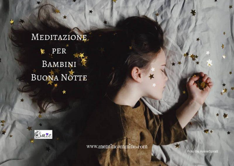 Meditazione per bambini - addormentarsi dolcemente