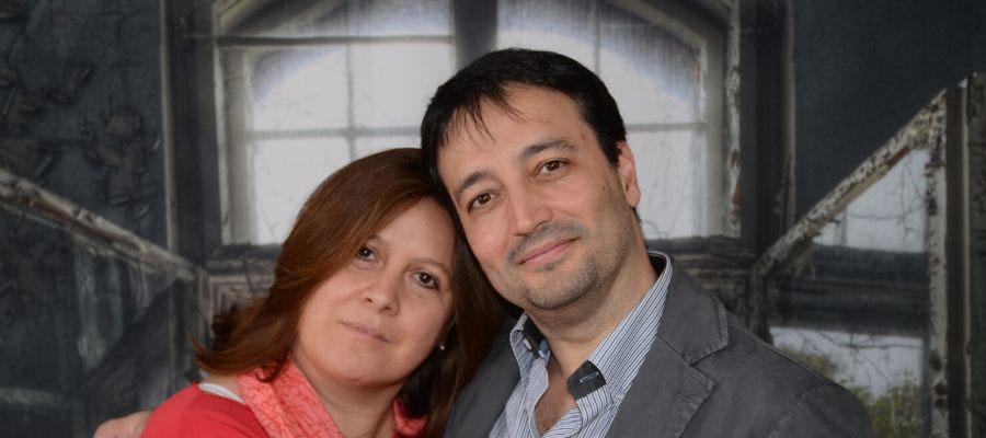 Sonia e Daniele fondatori di MentinCammino