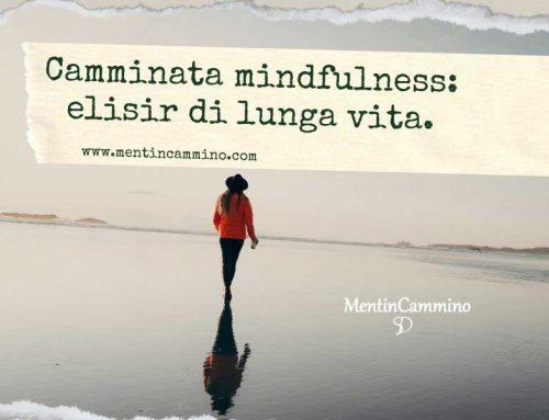 Camminata mindfulness: elisir di lunga vita.